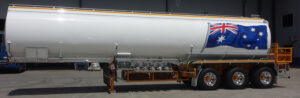 Fuel Tanker Painting