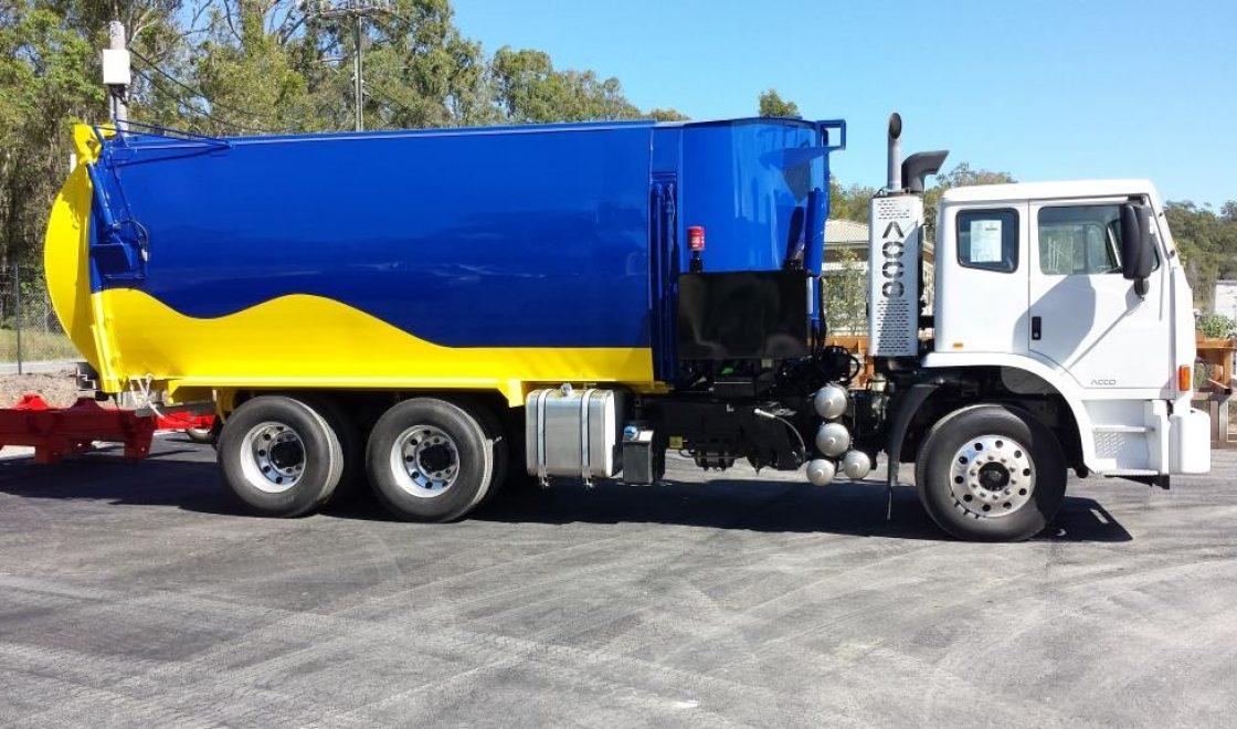 Rubbish Truck Industrial Coatings