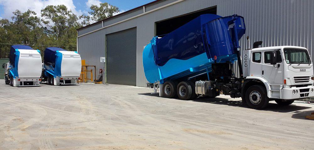 Rubbish Compactor Industrial Coatings