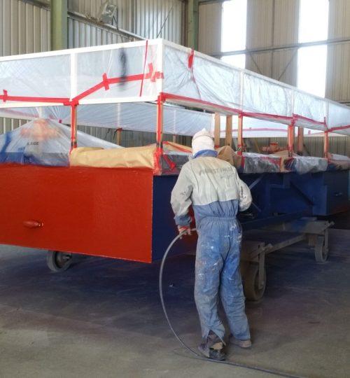 Barge Refurbishment - heavy industrial coatings